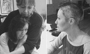 Nữ diễn viên 'Phép thuật' nghẹn ngào cạo tóc để chữa ung thư