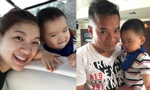 Phạm Thanh Thảo đưa con trai đi chơi trước ngày lâm bồn