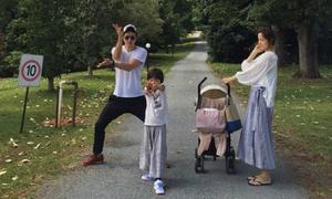 Gia đình hạnh phúc của tài tử Kwon Sang Woo