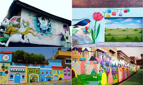 5 ngôi làng bích họa nổi tiếng ở Hàn Quốc