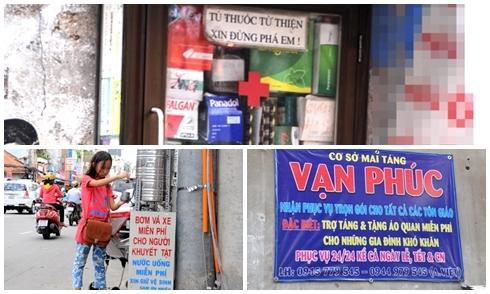 Con hẻm chuyên đồ miễn phí cho người nghèo giữa Sài Gòn