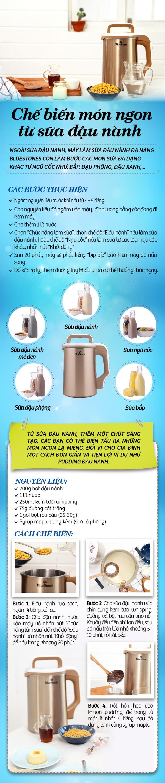 Chế biến món ngon từ sữa đậu nành