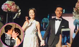 Tâm Như, Kiến Hoa khóa môi ngọt ngào trong hôn lễ ở quê nhà