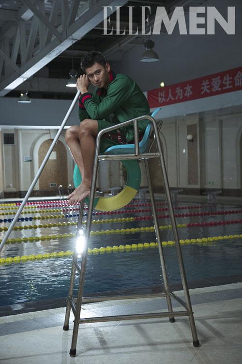 Chàng trai trẻ sinh ra trong gia đình có truyền thống quân nhân, đến với bơi lội để rèn luyện sức khỏe nhưng nhanh chóng được phát hiện có tố chất.