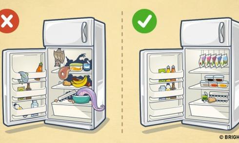 10 mẹo sử dụng tủ lạnh tuyệt hay của người nội trợ thông minh