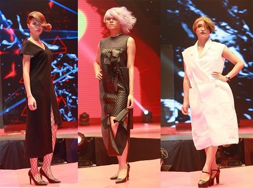 Những mẫu tóc thuộc top 5 Color Zoom 2016 trình diễn trong chương trình.