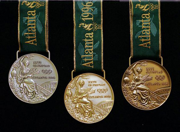 Ba tấm huy chương tại Olympic Atlanta 1996.