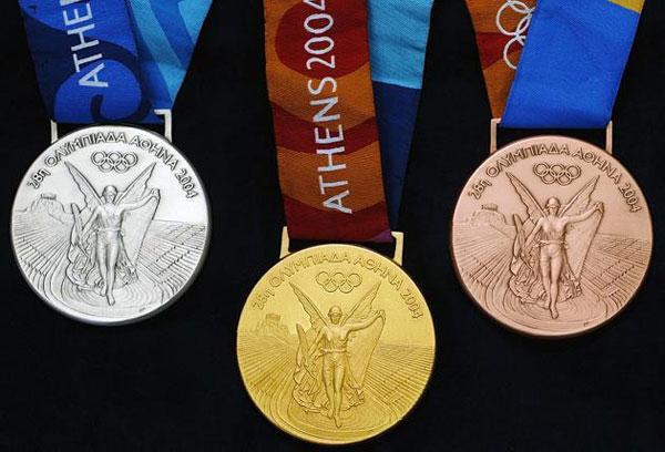 Văn hoa của huy chương tại Olympic Athens 2004 giống