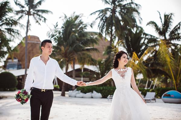 [Caption]Cách đây 8 năm, đôi bạn trẻ Thành Quang và Thu Hà là hai thành viên trong một nhóm bạn thân thiết. Ban đầu, Quang và Hà chỉ là những người bạn thông thường, nhưng rồi dần dần trở thành tình yêu lúc nào không hay.
