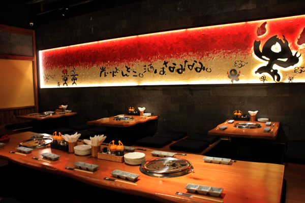 Không gian đẹp, thuần Nhật và yên tĩnh góp phần làm cho Gyu Shige trở thành điểm hẹn cho những thực khách yêu thích nền ẩm thực tinh hoa của xứ sở Phù Tang.
