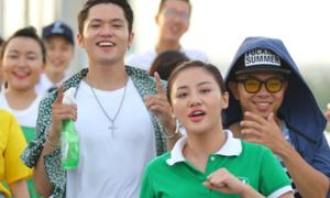 Văn Mai Hương, Phúc Bồ nhảy flashmob trên đường phố
