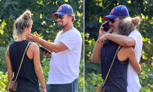 Leo DiCaprio vỗ về, trấn an bạn gái sau khi bị tông xe