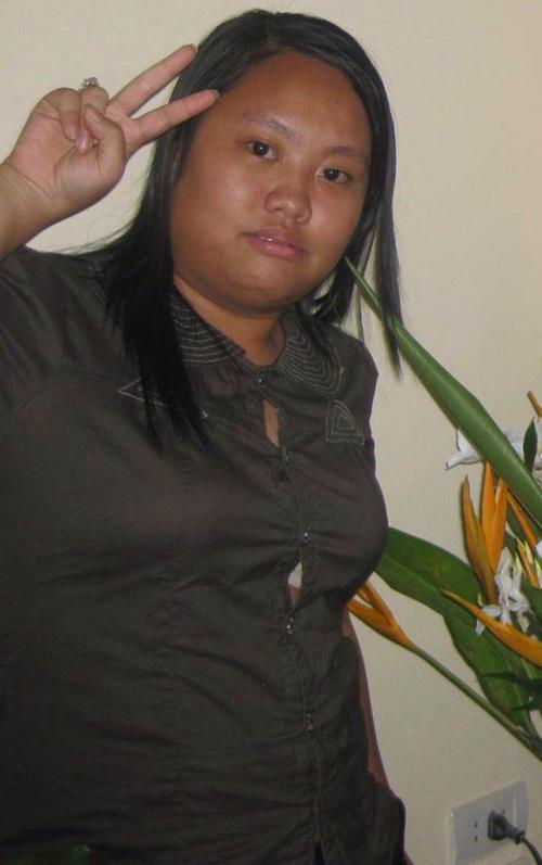 Minh Trang thời học cấp 3 là cô bé mập ú, thường xuyên bị bạn bè trêu chọc.