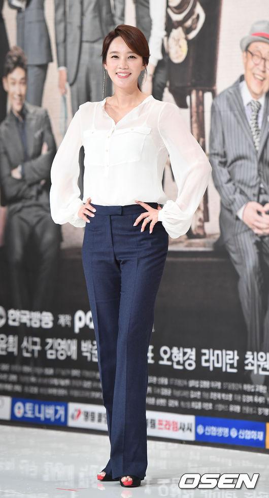 Người đẹp Oh Hyun Kyung.