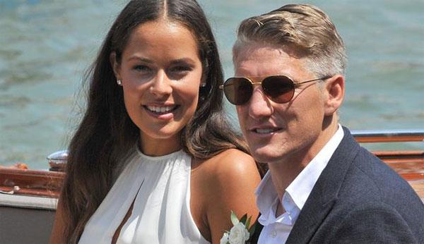 Đám cưới Schweinsteiger - Ivanovic ở Venice.