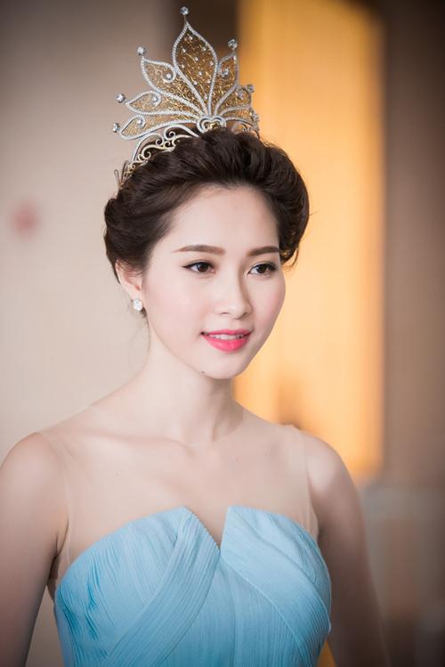 Khuôn mặt của Hoa hậu Thu Thảo đạt