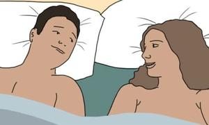 Những tác dụng tuyệt vời khi chúng ta 'ngủ nude'