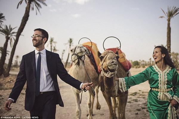 [Caption]Marrakech Morocco