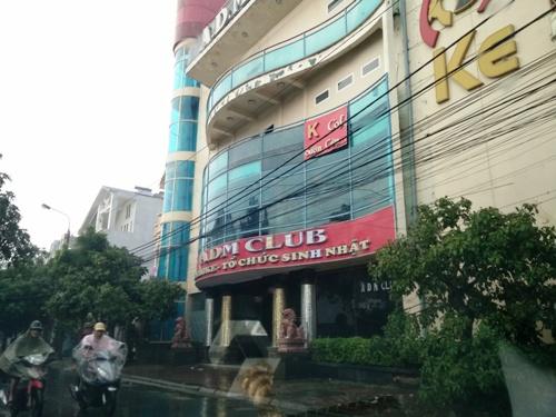 Quán karaoke ADM Club là địa điểm ăn chơi nổi tiếng ở Hải Phòng. Ảnh: Giang Chinh.