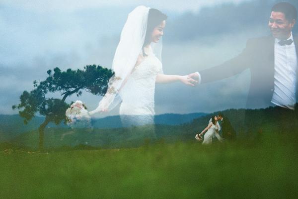 [Caption]Hai người dự định sang năm làm lễ cưới và hy vọng sẽ nhận được lời chúc phúc của người thân.
