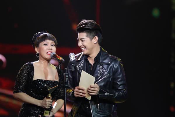 Việt Hương và Noo Phước Thịnh làm khách mời