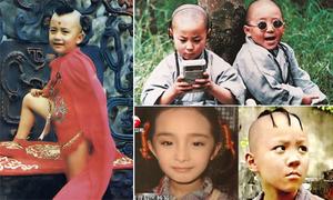 10 sao nhí đình đám của làng giải trí Hoa ngữ: Ngày ấy - bây giờ