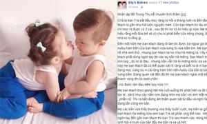Elly Trần hạnh phúc khi Cadie biết bảo vệ em trai