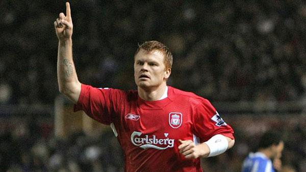 John Arne Riise từng có thời gian thành công trong màu áo Liverpool.