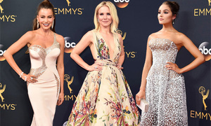 8 sao mặc đẹp trên thảm đỏ Emmy 2016