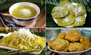 Những món ăn từ cốm 'cộp mác' mùa thu Hà Nội