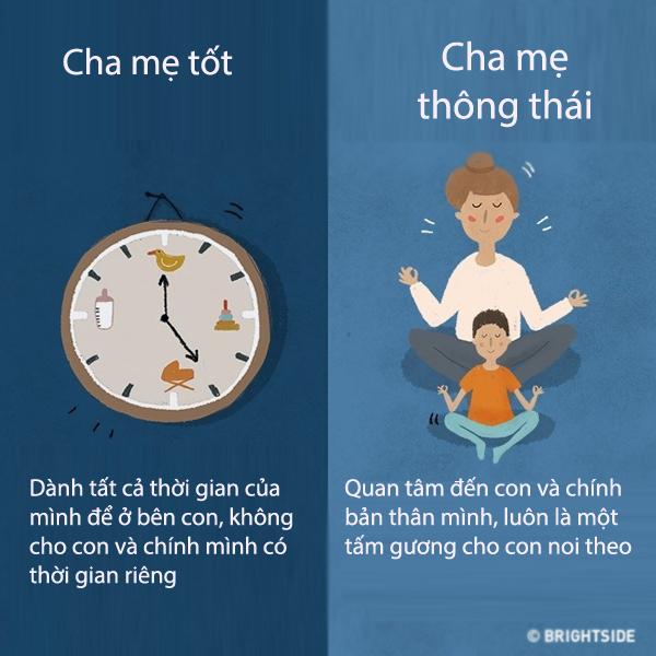 11-dieu-khac-biet-giua-cha-me-tot-va-cha-me-thong-thai