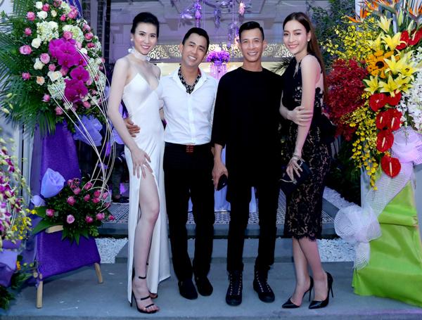 Chuyên gia trang điểm Tony Nguyễn và Kenny Thái