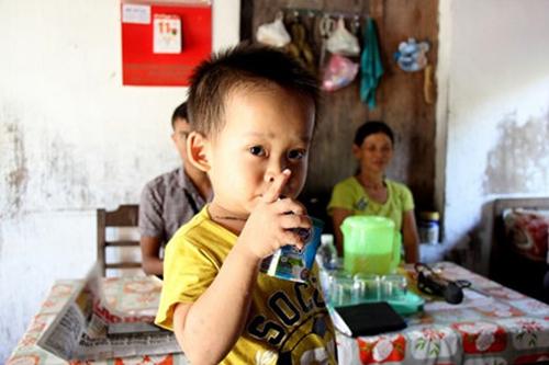 Thịnh là đứa trẻ ít ốm đau, phát triển bình thường và rất hiếu động.