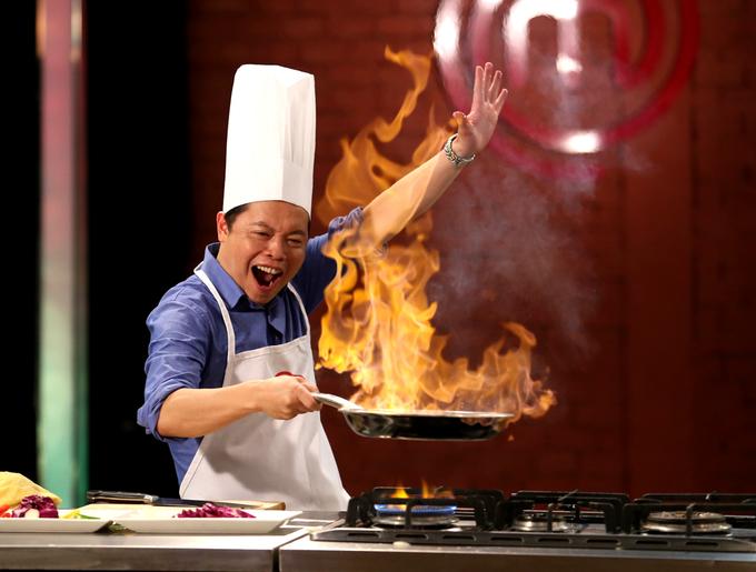 Người nấu ăn cho Angelina Jolie làm giám khảo Vua đầu bếp Việt nhí
