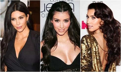 7 cách tạo kiểu với tóc đen đẹp nhất của Kim