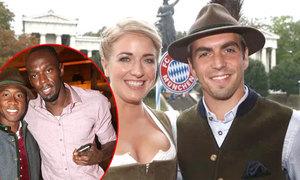 Usain Bolt dự lễ hội bia cùng sao Bayern Munich