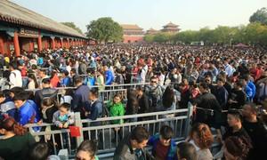 Du lịch tuần lễ vàng kinh hoàng ở Trung Quốc