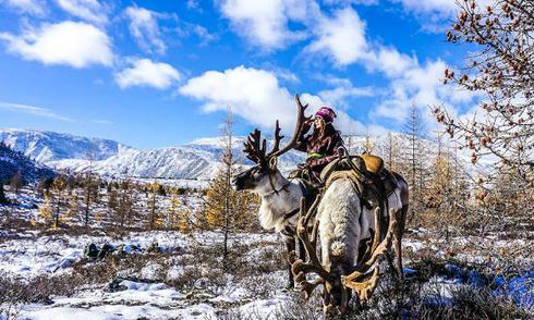 Bộ ảnh chu du ở Mông Cổ tuyệt đẹp của cô gái 9x