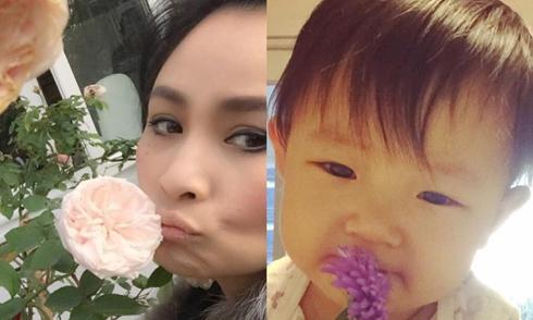 Cháu ngoại của Thanh Lam ngày càng đáng yêu