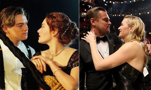 Tình bạn thân hiếm có của Kate Winslet và Leo DiCaprio