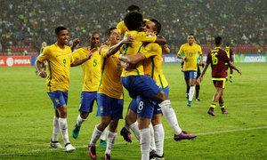 Venezuela 0-2 Brazil