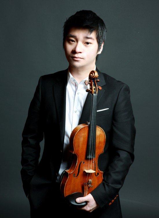 Nghệ sĩ violin Kwon Hyuk Joo.