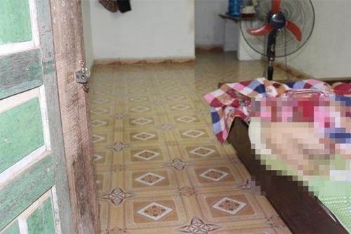 Thi thể cô gái Phàn Thị Vằn phát hiện trong phòng trọ