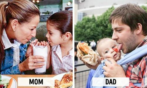 Cách chăm con 'một trời, một vực' giữa bố và mẹ