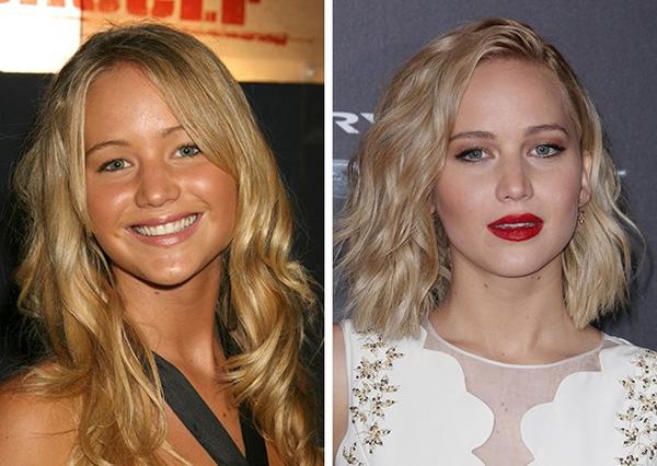 Màu tóc sáng giúp Jennifer Lawrence