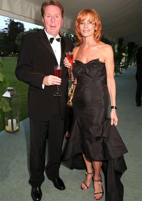 Vợ HLV Redknapp là chị em ruột với người mẹ quá cố của Frank Lampard