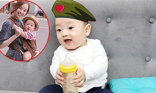 Hình ảnh mới của con trai Ly 'Kute' khiến các fan 'tan chảy'