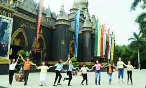 Lễ hội Halloween kỳ bí tại Suối Tiên