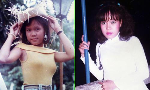Việt Hương khoe ảnh thời thiếu nữ hồn nhiên