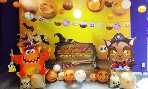 Lễ hội Halloween đáng yêu cho bé tại tiNiWorld